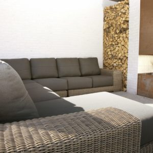 Kingston Modular Living Loungeset