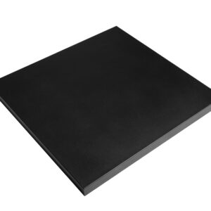Deksel Cocoon Table Vierkant Klein Zwart