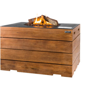 Happy Cocooning Cocoon Tables Teakhout Lounge & Dining Rechthoek Zwart