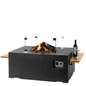 Happy cocooning cocoon table rechthoek zwart