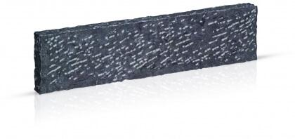 Boordstenen Chinese blauwe steen gekloven 10x25x100 cm