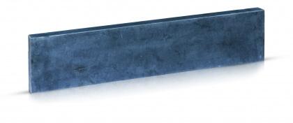 Boordstenen Vietnamese blauwe steen geschuurd 5x15x100 cm