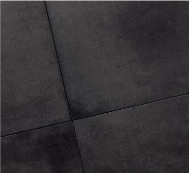 Natuursteen keramische tegels Concrete black