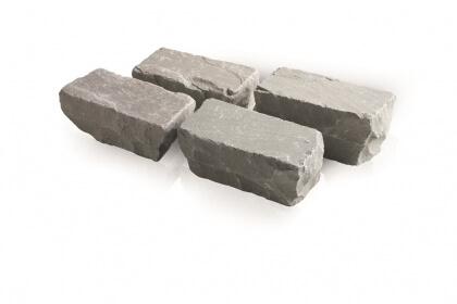 Kandla grijs 14x14x11-13 cm (230 kg/m²)
