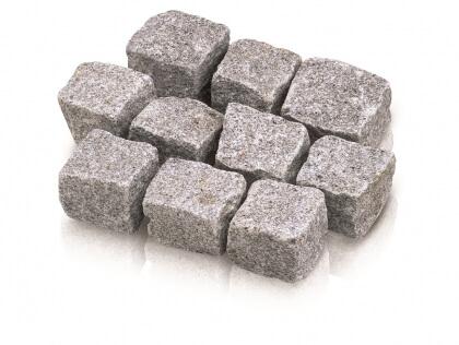 Portugees graniet grijs 7/9 cm (160 kg/m²)