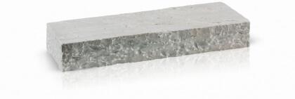 Traptreden Kandla grijs 15x35x100 cm