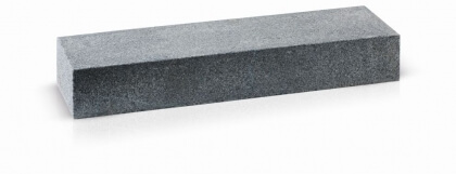 Traptreden donker grijs graniet gevlamd 16x30x150 cm