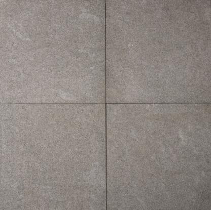Tegels basalt handgefreind 60x60x3 cm