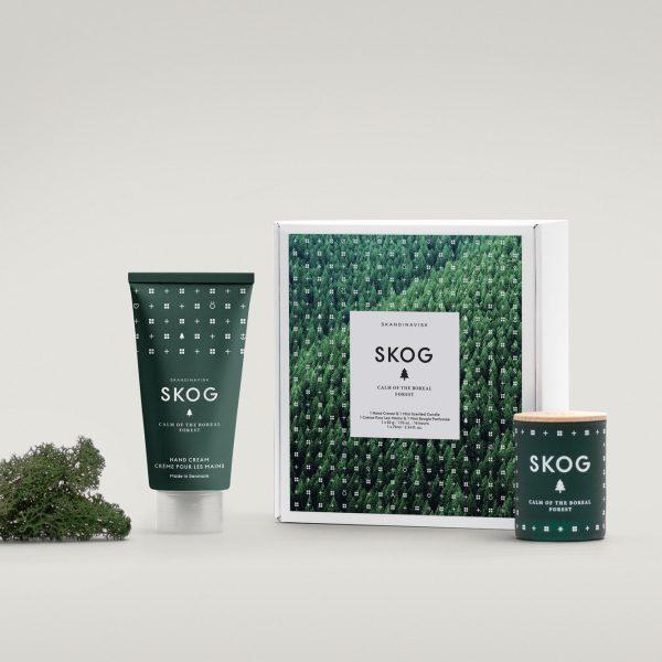 Skog Handcreme & Miniduftkerze Geschenke-Set