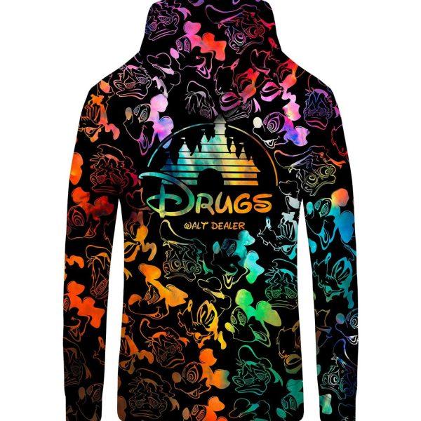 walt dealer zip-up hoodie