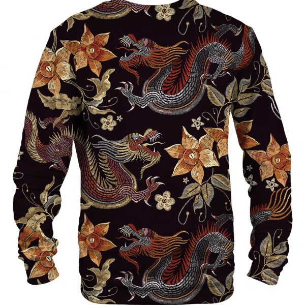 japanese dragon sweater