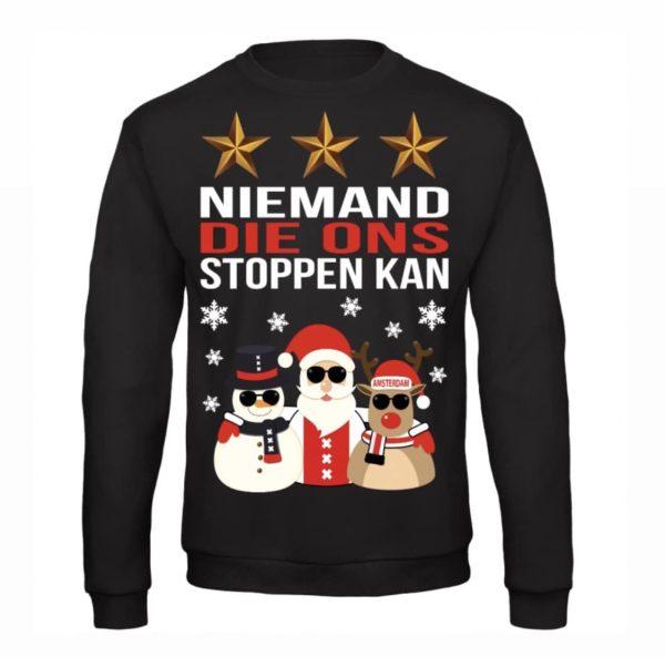 KERSTTRUI NIEMAND DIE ONS STOPPEN KAN Christmas Shop De