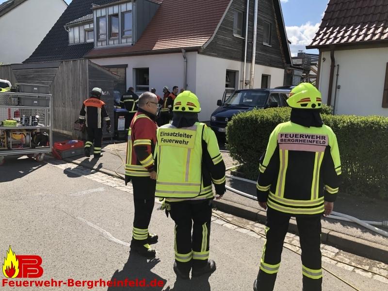 Brand im Gebäude – Mehrere Personen in Gefahr