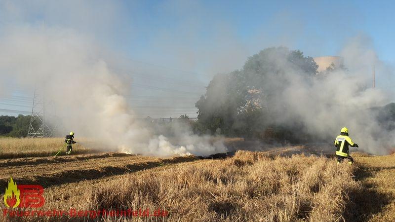 Brand landwirtschaftliche Maschine
