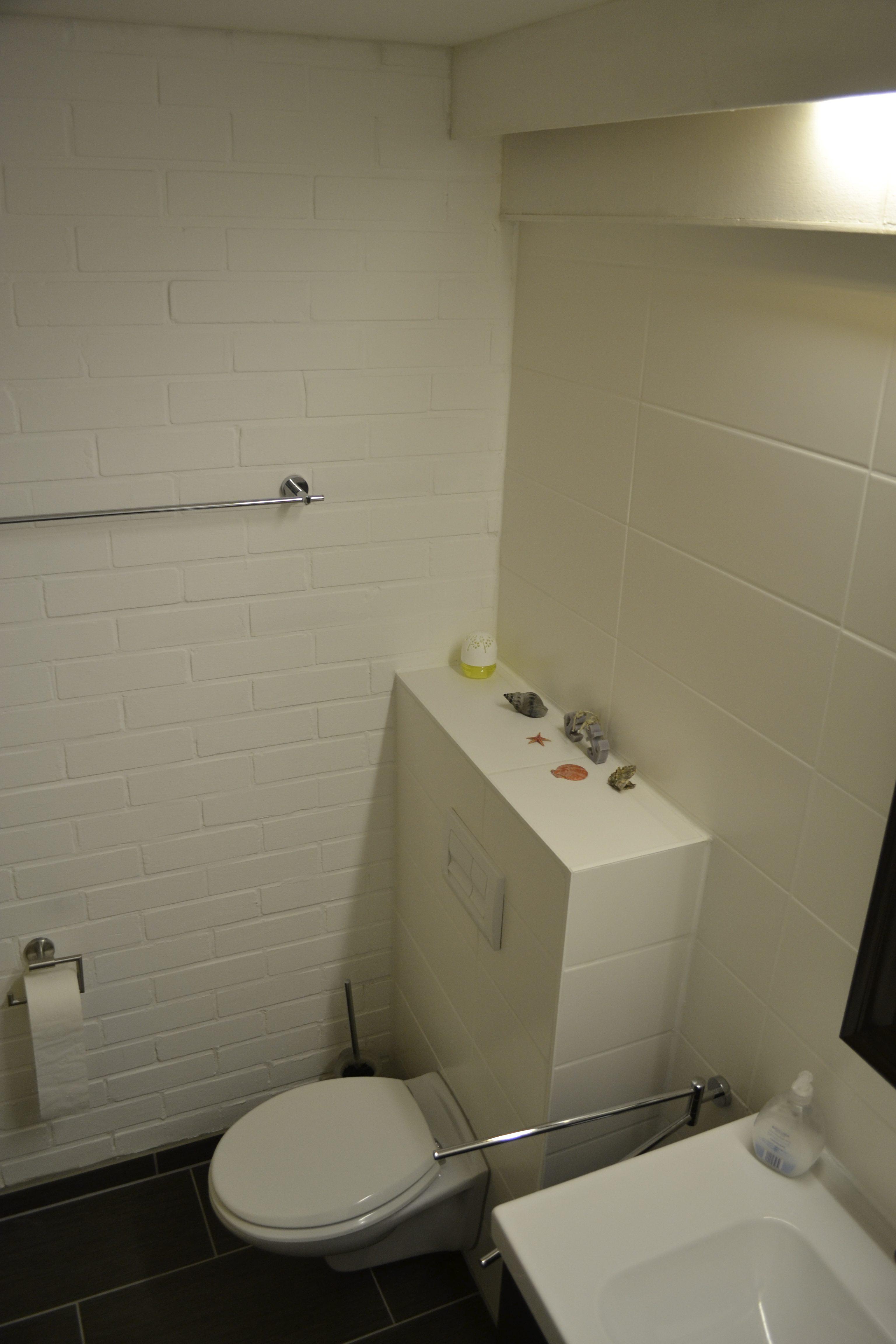 Wandhängendes WC im Badezimmer