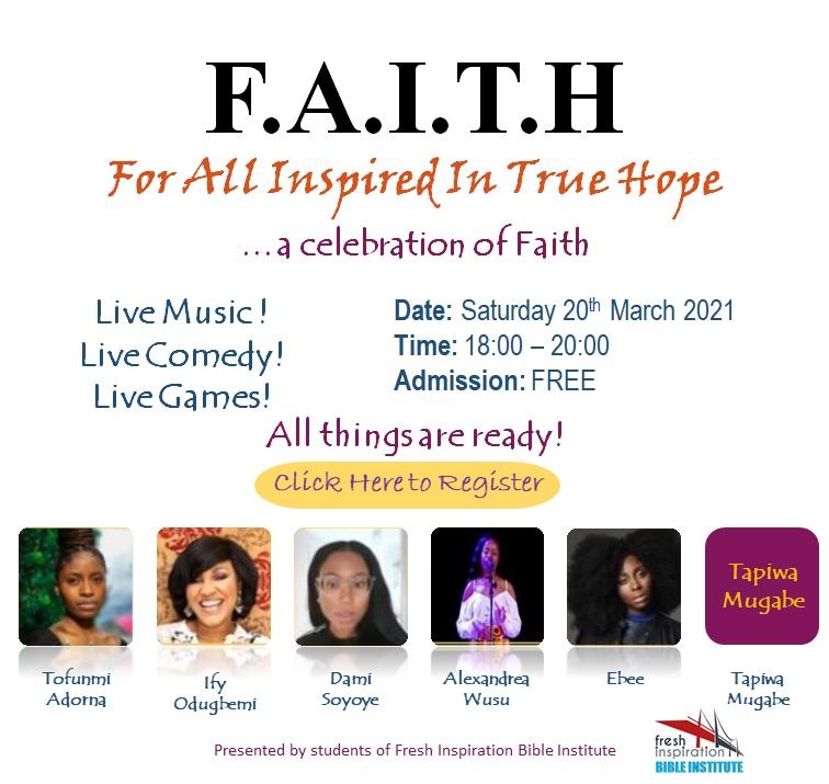 Faith 2021 White