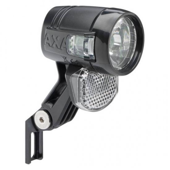 AXA Blueline koplamp 30 T Lux Steady Auto zwart