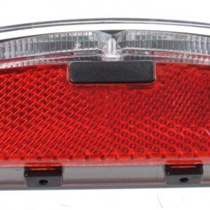 Anlun Achterlicht 75 mm voor dynamo rood