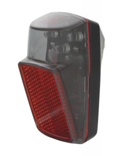 Anlun - Achterlicht Led Batterij Rood/zwart