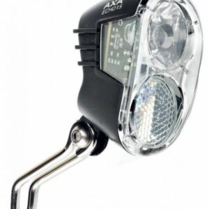Axa - Koplamp Echo 15 Switch Aan/uit Led Dynamo Zwart