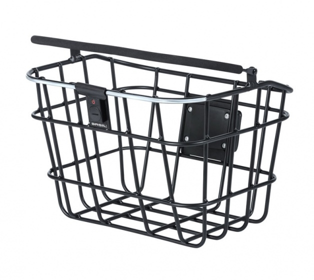 Basil fietsmand Bremen Nordlight 30 liter zwart