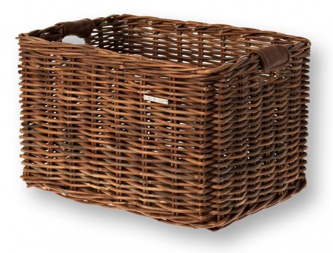 Basil fietsmand Dorset voor 31 liter bruin