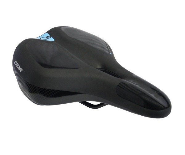 Cycle Tech zadel Comfort Plus Ergo 280 x 170 mm zwart