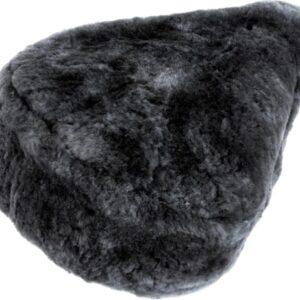 FastRider zadeldekje schapenvacht grijs 28 cm