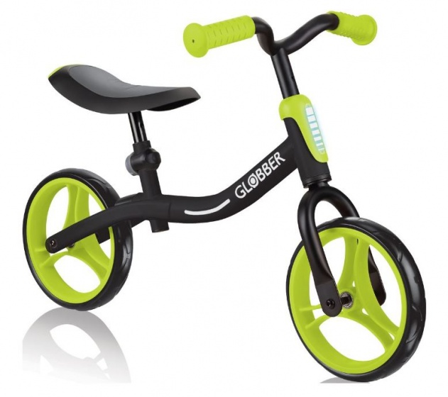 Globber Go Bike loopfiets 10 Inch Junior Zwart/Groen