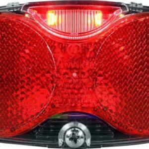 Herrmans Achterlicht LED Twinle Batterij Auto 80mm