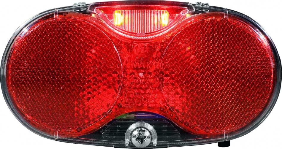 Herrmans achterlicht Twinle led batterij rood