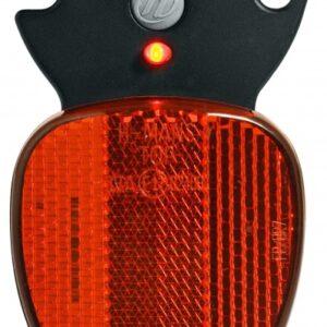 Herrmans achterlicht led H Rail batterijen zwart/rood