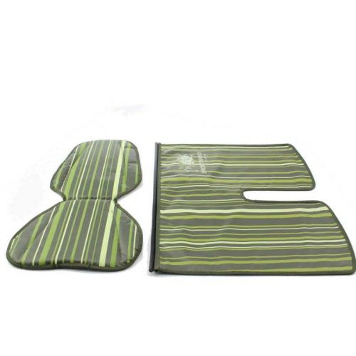 Kussenset Mini + Windschermflap Stripe Green
