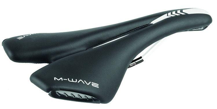 M-Wave M-Wave Zadel Spider Zwart/Wit Atb-Race