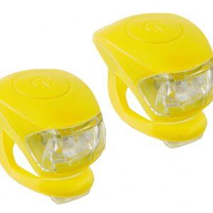 M Wave Verlichtingsset LED Geel 2 Stuks