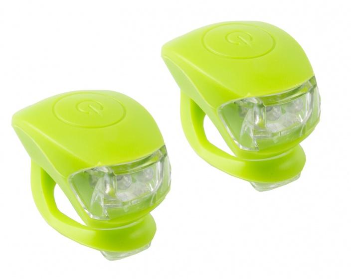 M Wave Verlichtingsset LED Groen 2 Stuks