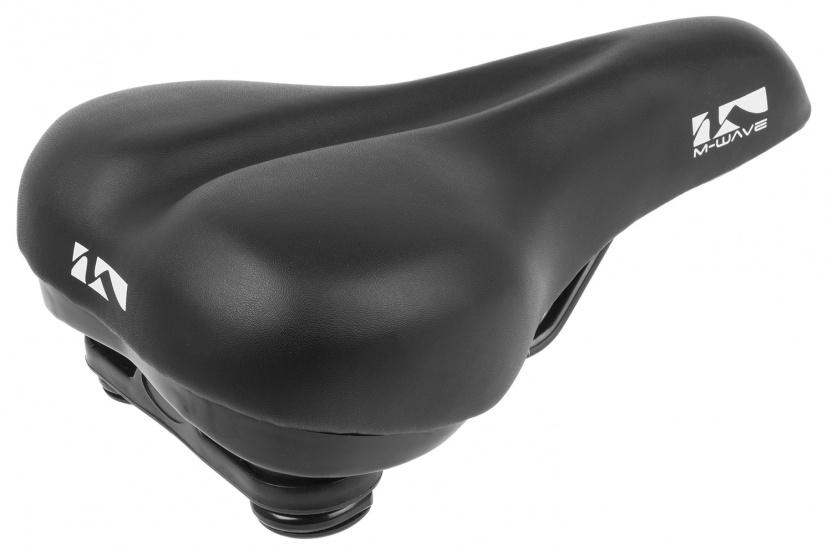 M Wave Zadel stadsfiets 260 x 185 mm zwart maat M