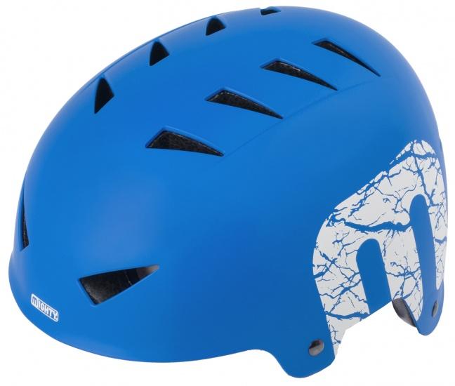 Mighty Helm X Style junior blauw maat L (60 63 cm)