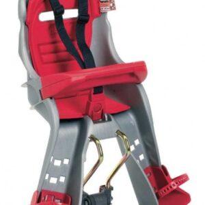 OK Baby fietszitje voor Orion framebevestiging grijs/rood