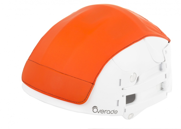 Overade Helm Cover Oranje Maat L/XL