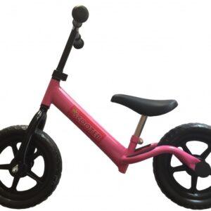Pexkids Kinder Scooter Loopfiets 12 Inch Meisjes Roze