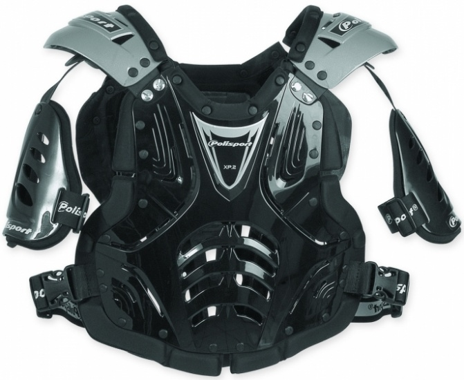 Polisport bodyprotector Cross Power 2 junior zwart