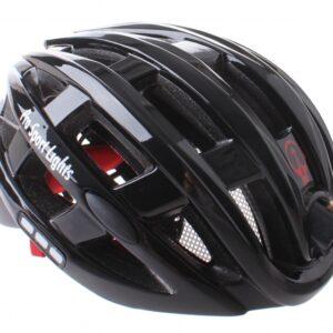 Pro Sport Lights fietshelm met verlichting unisex zwart mt 49 59
