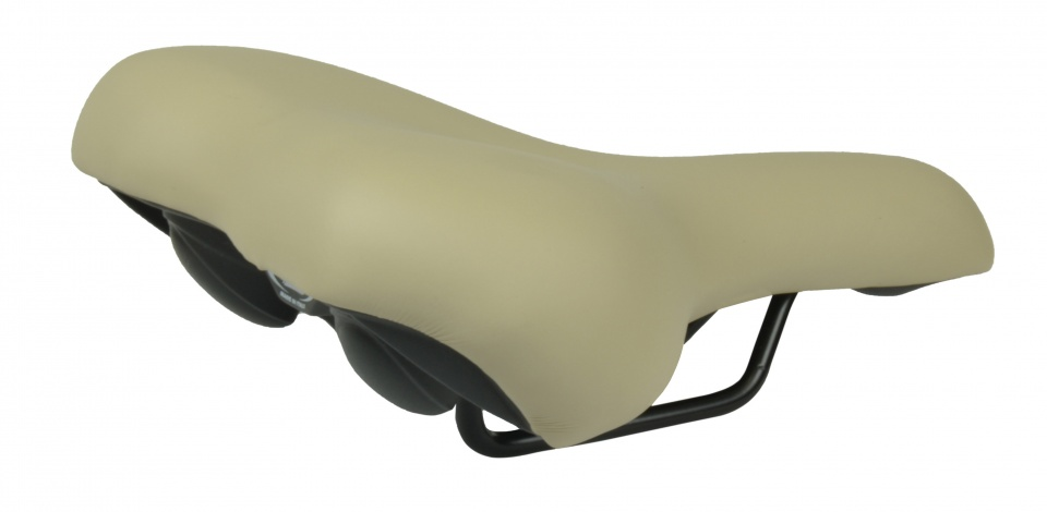 Selle Monte Grappa zadel Nevea 260 x 205 mm dames stone beige