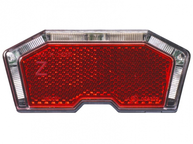Simson achterlicht Tunnel led batterij bagagedrager rood