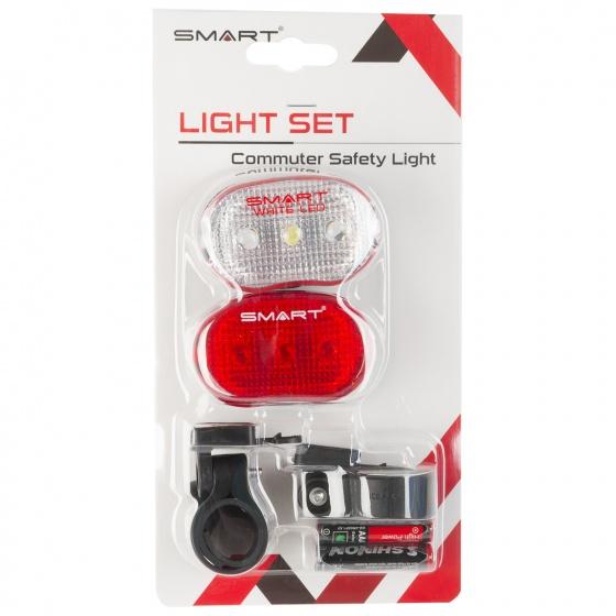 Smart Knipperlicht Set Rood Achterlicht + Wit Voorlicht LED