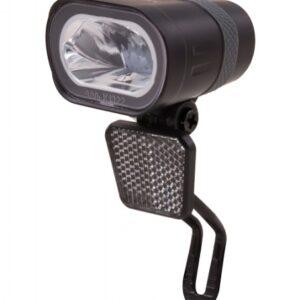 Spanninga koplamp Axendo 40 Xdas dynamo zwart