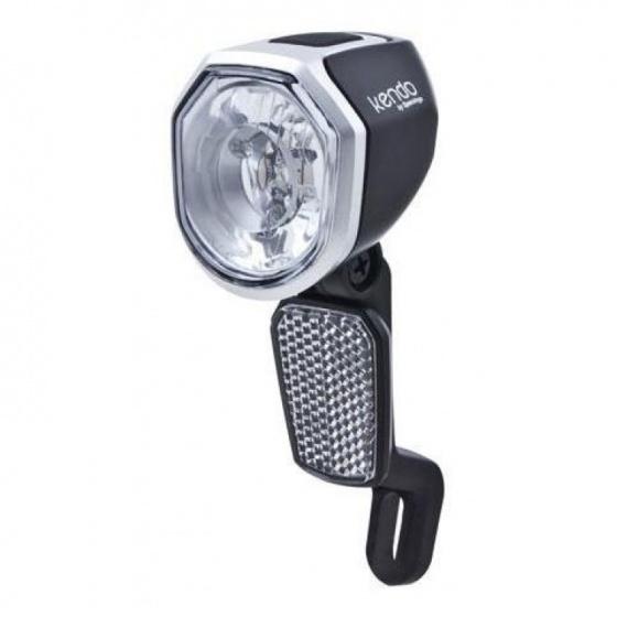 Spanninga koplamp Kendo Xe led 6 36V zwart/zilver