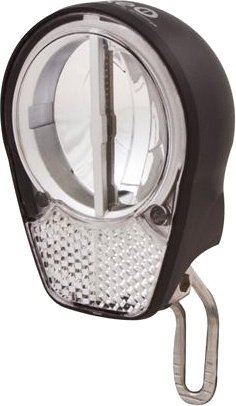 Spanninga koplamp Roxeo XDA led zwart
