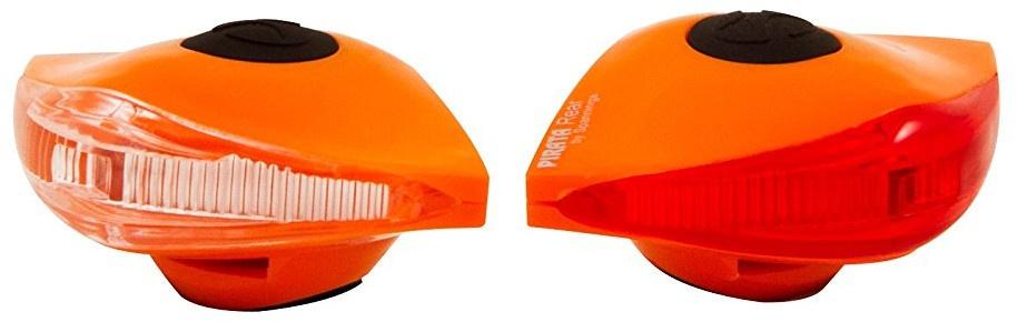 Spanninga verlichtingsset Pirata led batterij oranje